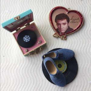 Elvis Presley Ornament Set